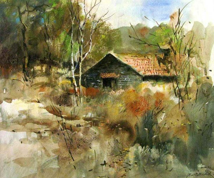 Milind Painting Mulick Watercolors Images