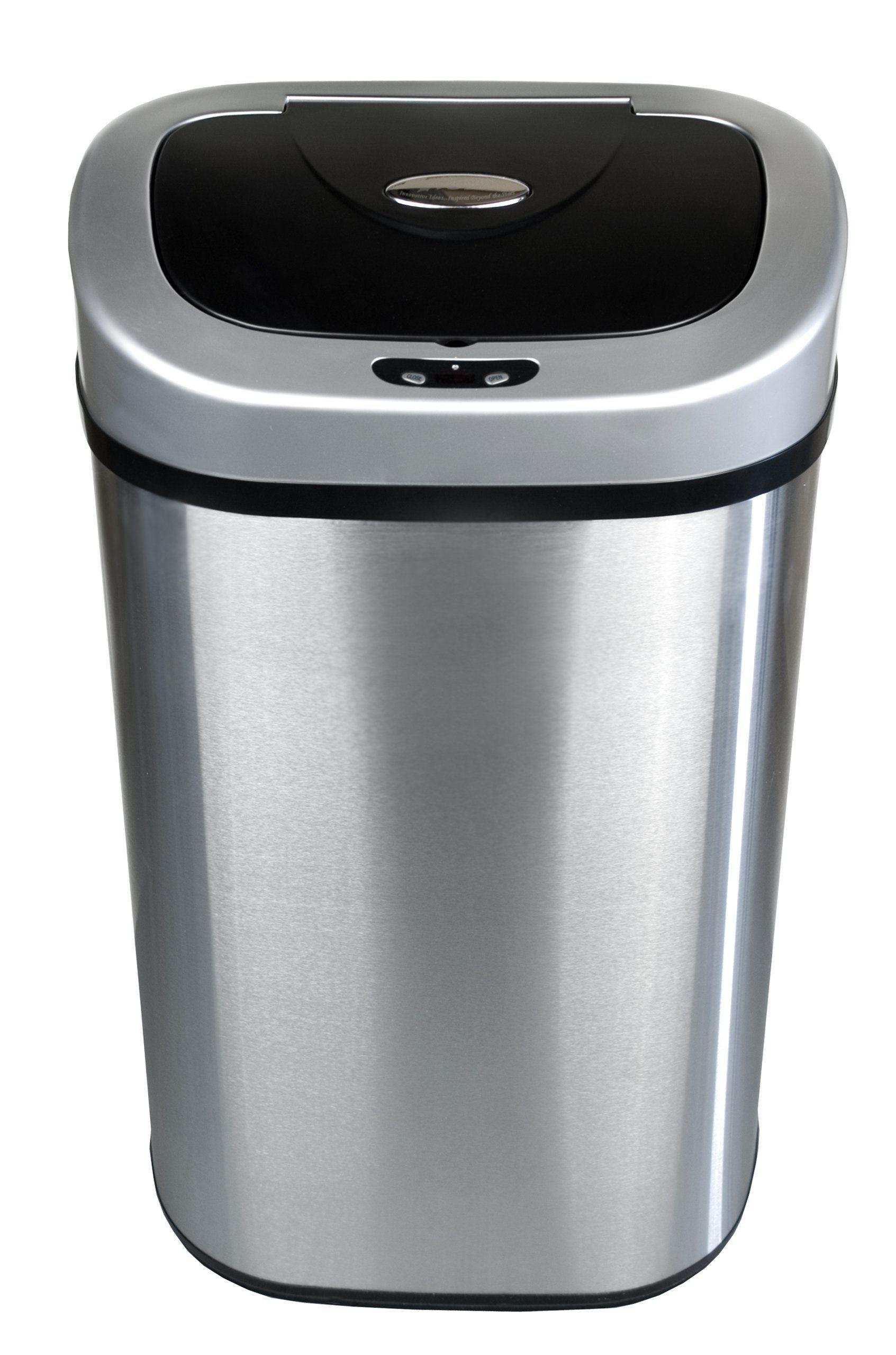 Amazon White Kitchen Garbage Can Instaimage