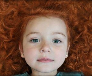Couleur des cheveux bebe roux