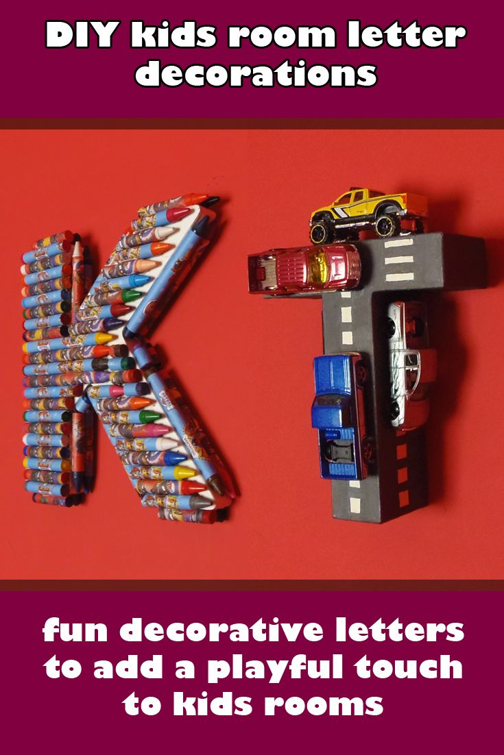 Delightful In This Tutorial Iu0027m Showing You How To Make Letter Decorations As A DIY  Wall Decor For Kids Rooms.