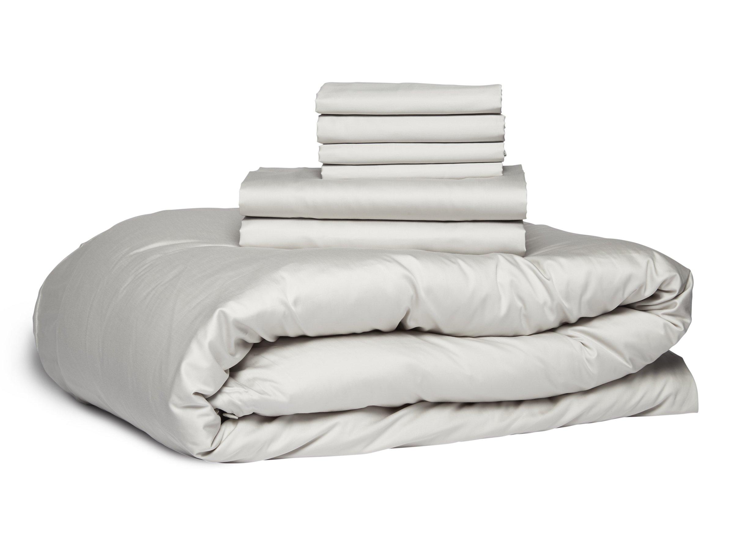 Sateen Double Up Bundle Soft Duvet Covers Linen Bedding