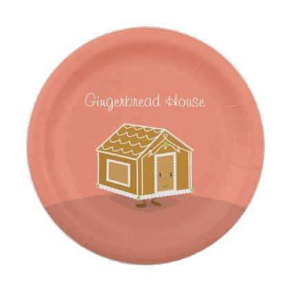 sc 1 st  Pinterest & Happy Gingerbread House | Paper Plate