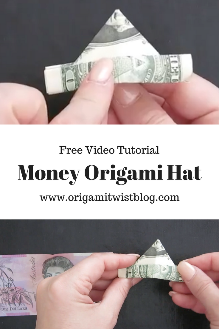 How to fold a dollar bill origami hat httporigamitwistblog one of my favorite types of paperfolding is money origami dollar bill origami is such a great gift idea and it is really fun to fold this easy money orig jeuxipadfo Image collections