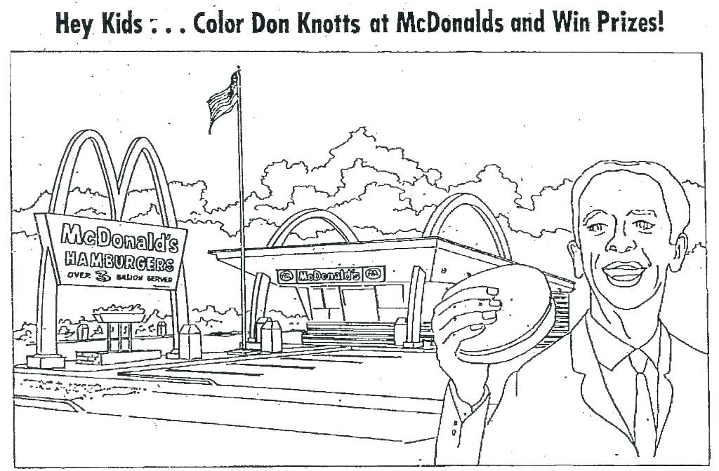 Restaurant Coloring Pages Don Knotts Coloring Pages Paper Dolls