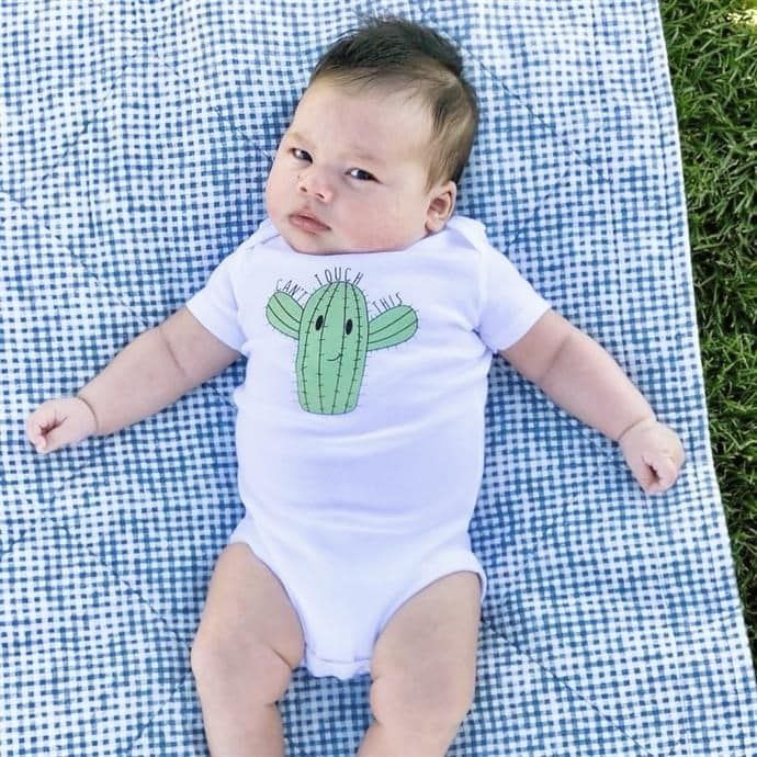 a6deb3eec Can't Touch This Cactus Onesie   Baby Boy Outfits   Onesies, Baby ...