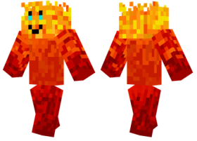 Minecraft Skins Fire Skin Png Image With Transparent Background Png Free Png Images Skins Fire Minecraft Skins Png