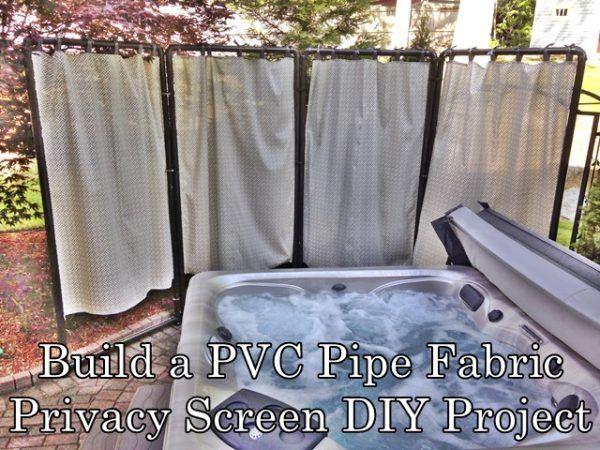 Patio Curtain Rod Ideas