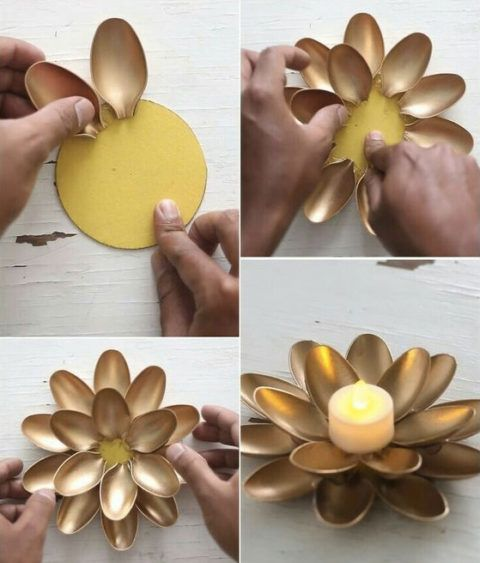 See Everything You Can Make With Plastic Spoons – Man …