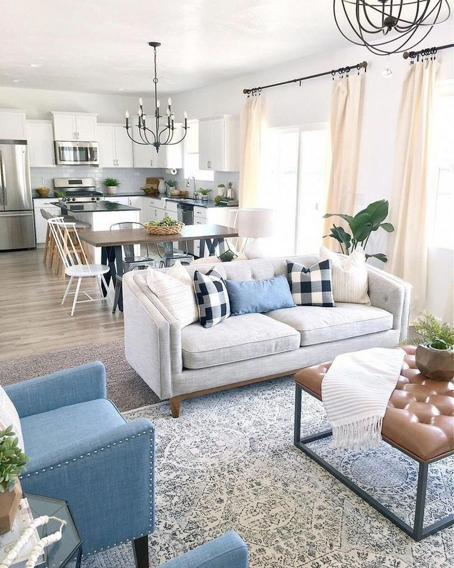 65 The Best New Modern Small Living Room Decor Ideas 2019 Page 35 Centralcheff Co Coastal Decorating Living Room Farm House Living Room Livingroom Layout