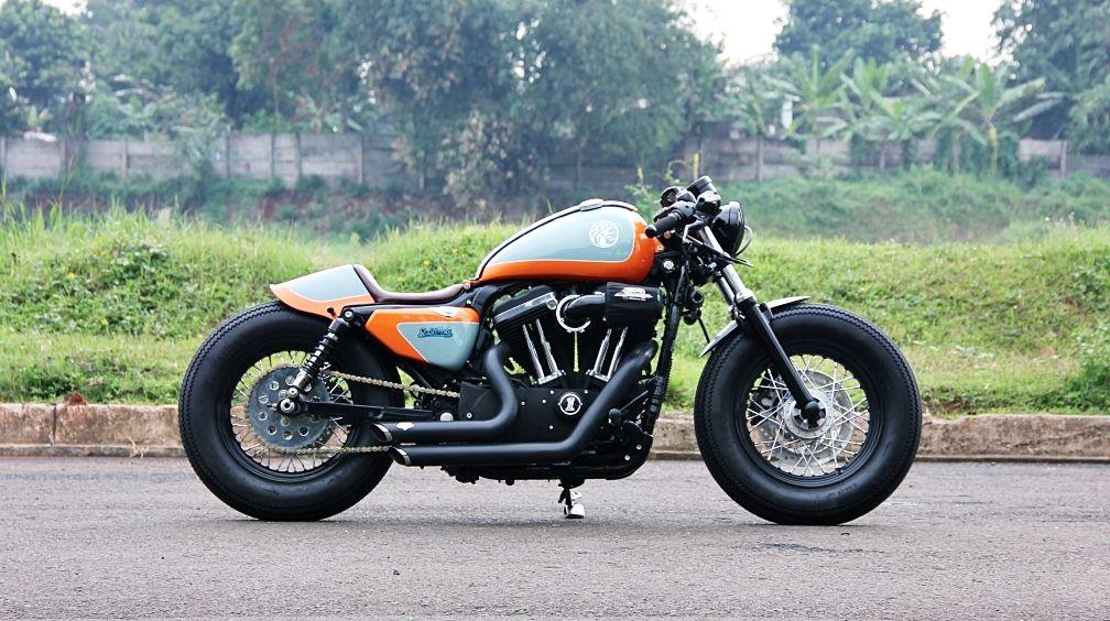 Il Quatro Ocho 1 Motor Harley Davidson Harley Davidson Cafe Racer