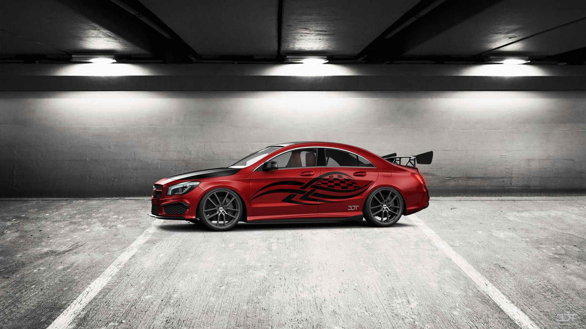 Checkout my tuning Mercedes CLAclass 2014 at 3DTuning