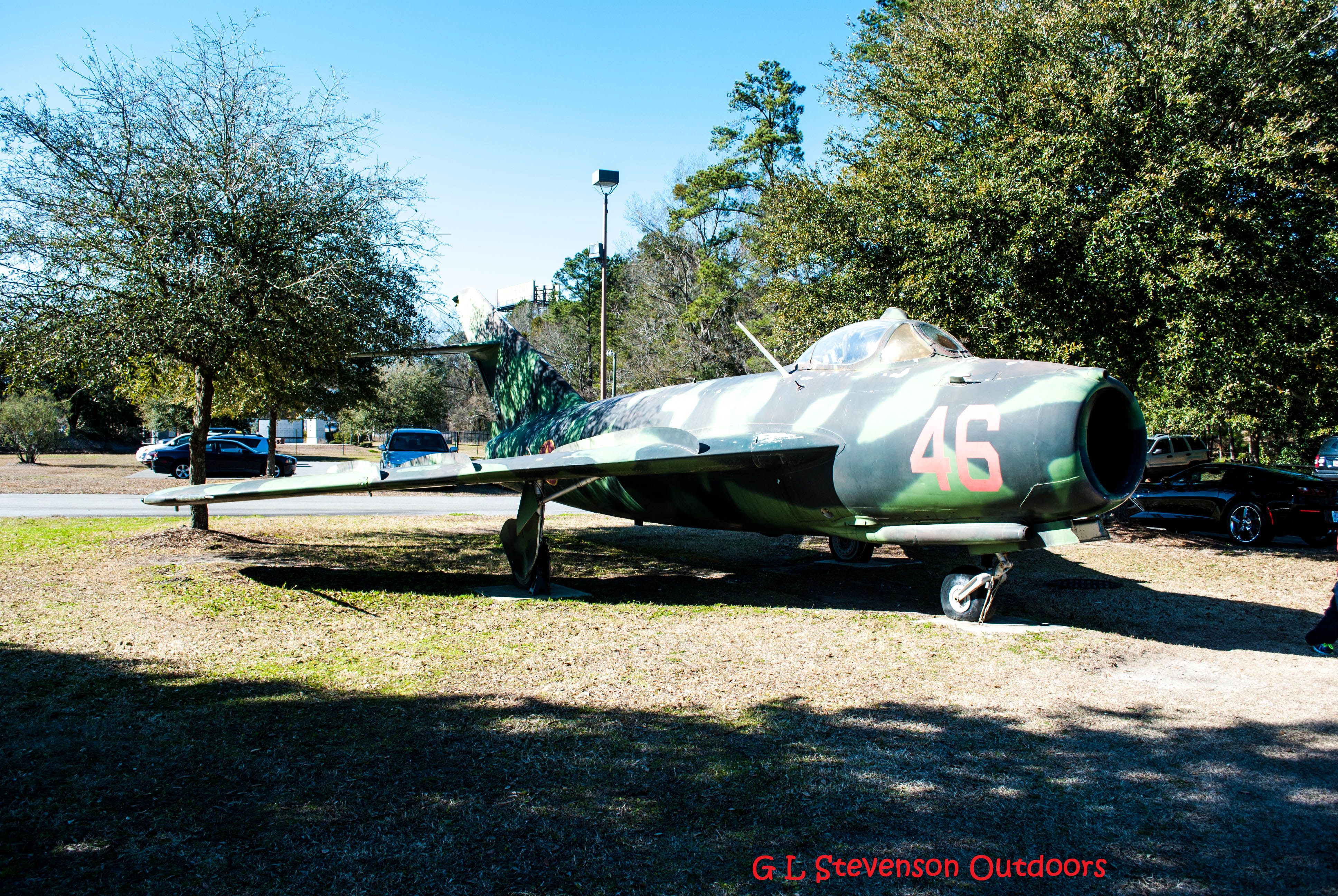 Mig 17 at the Mighty Eighth Air Force Museum The mighty