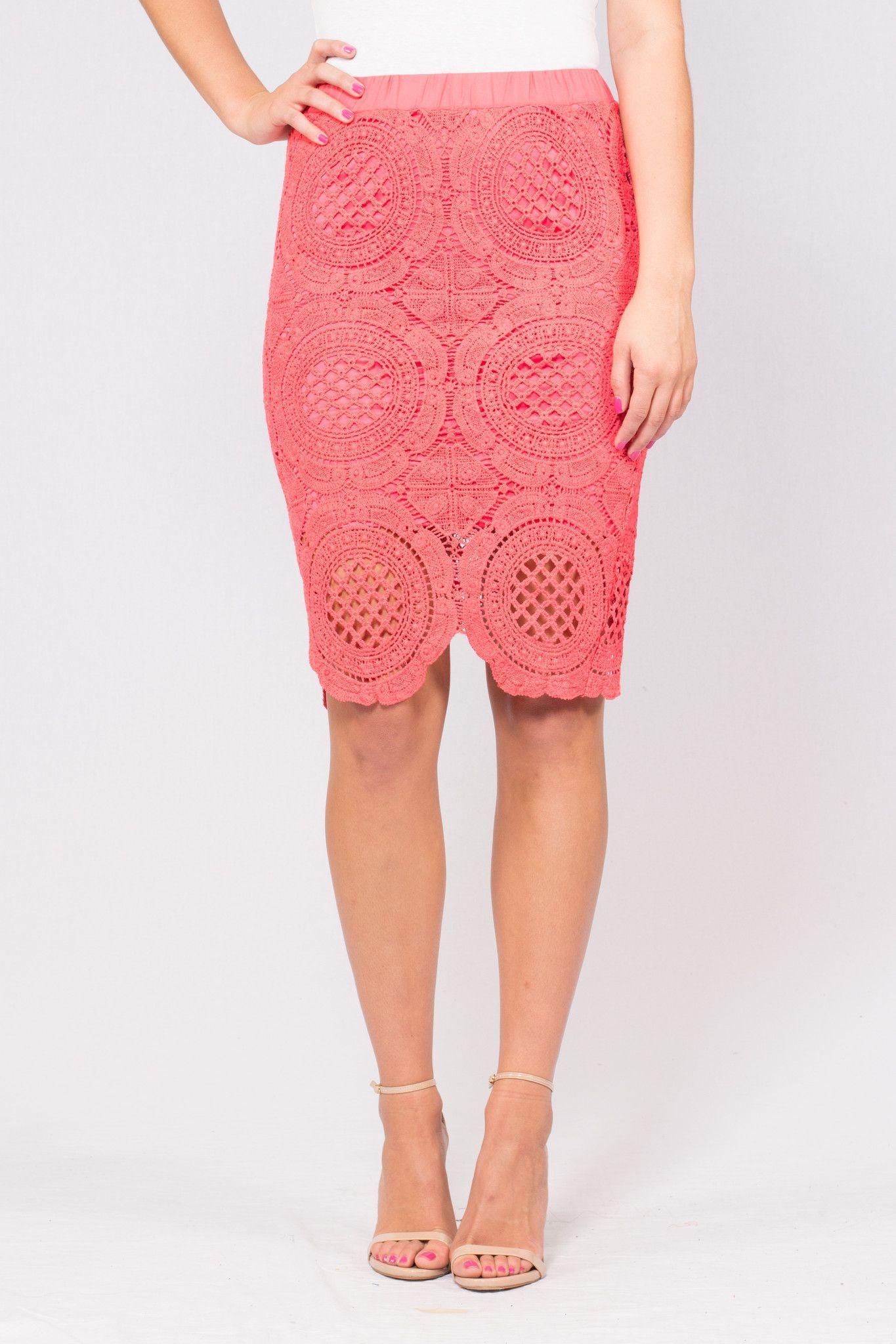 Enchanted Evening Crochet Skirt