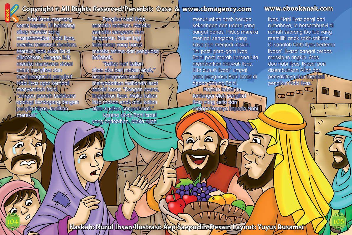 Inilah Cara Penguasa Baalbak Membujuk Pengikut Nabi Ilyas