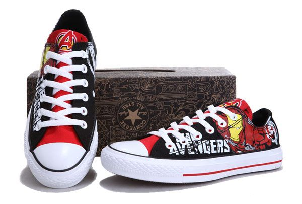 3ae3e3f0159a Converse Chuck Taylor The Avengers Marvel Comics All Star Shoes
