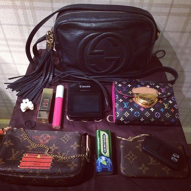 Whats in My Bag via Iconosquare