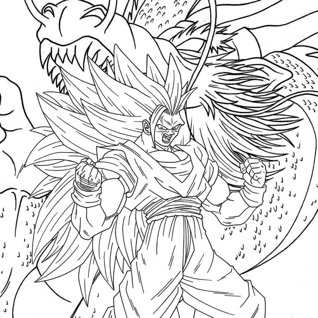 Tablos Af On Instagram Son Goku Ss3 Commission Inked And Ready To Be Painte Son Goku Ssj3 Encargo Entintado Y Listo P Goku Ss3 Goku Dibujo De Tiburon