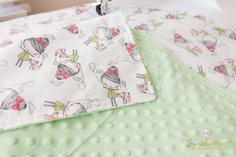 minky baby blanket sewing tutorial, free sewing pattern, minky ...