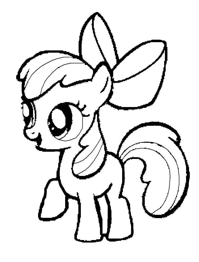 Ausmalbilder My Little Pony Gratis : Simple My Little Pony Coloring Pages Fresh My Little Pony Clipart