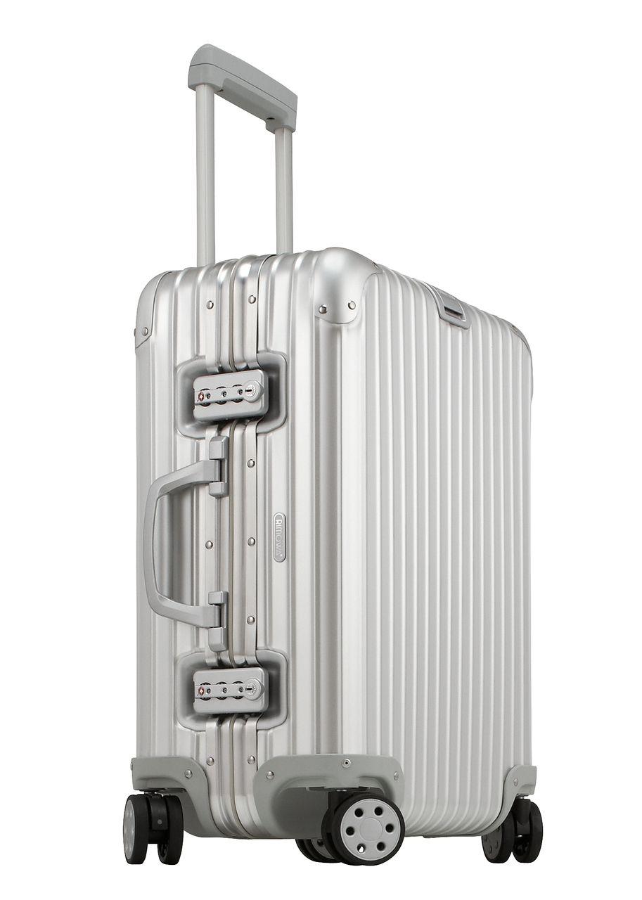 Rimowa Topas Aluminum Cabin Multiwheel 22 Carry On Luggage Rimowa Topas Rimowa Luggage