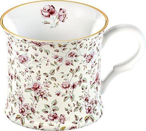 Katie Alice Ditsy White Floral Bone China Shabby Chic Mug Creative Tops  http    0b4de22e0c9