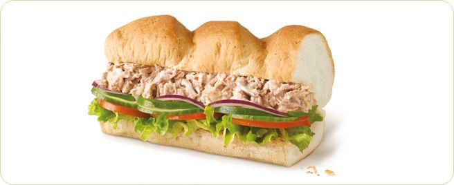 subway  eat fresh  menu  classic subs  tuna  food