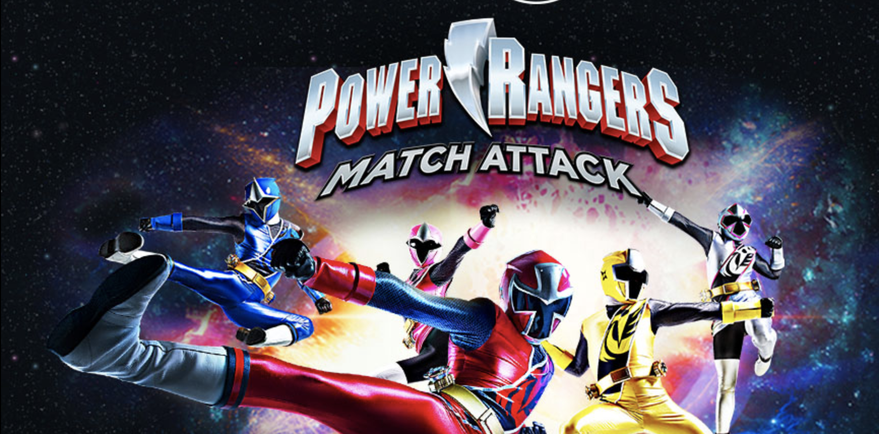 Play Power Rangers Match Attack Game in