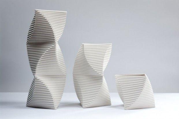 Keith Varney sculptural vessels