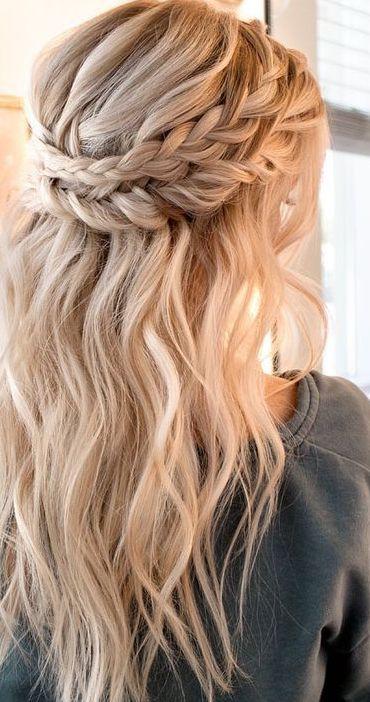 Cudowna 12 Easy Braids For Long Hair nel 2019 | Fryzura | Plecione włosy RC13