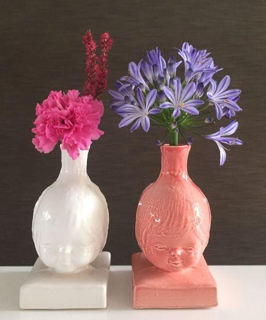 Bloemenmeisje vaasje! Little artwork! #flowers #studiodewinkel #porcelain #dutchdesign #studiodewinkel