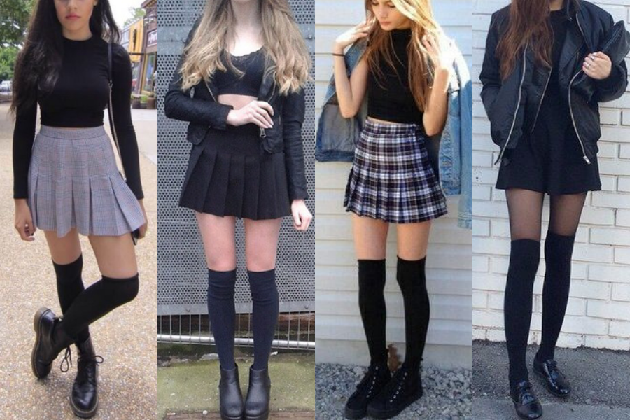 Image Result For Knee High Socks Outfit Long Socks Outfit High Socks Outfits Knee High Socks Outfit