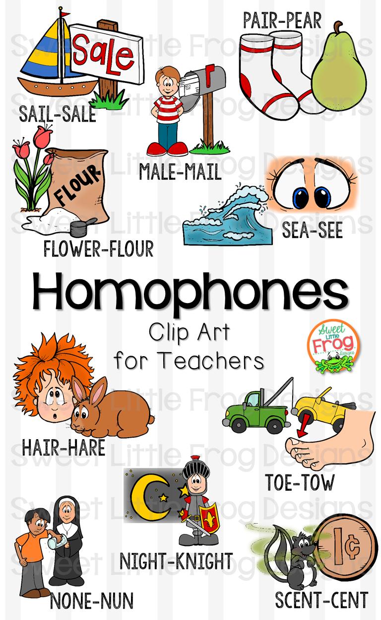 Homophone Clip Art Set Perfect For Teaching A Concept Through An Anchor Chart Literacy Activities Games Homophones Teaching Homophones Homophones Activity [ 1248 x 768 Pixel ]