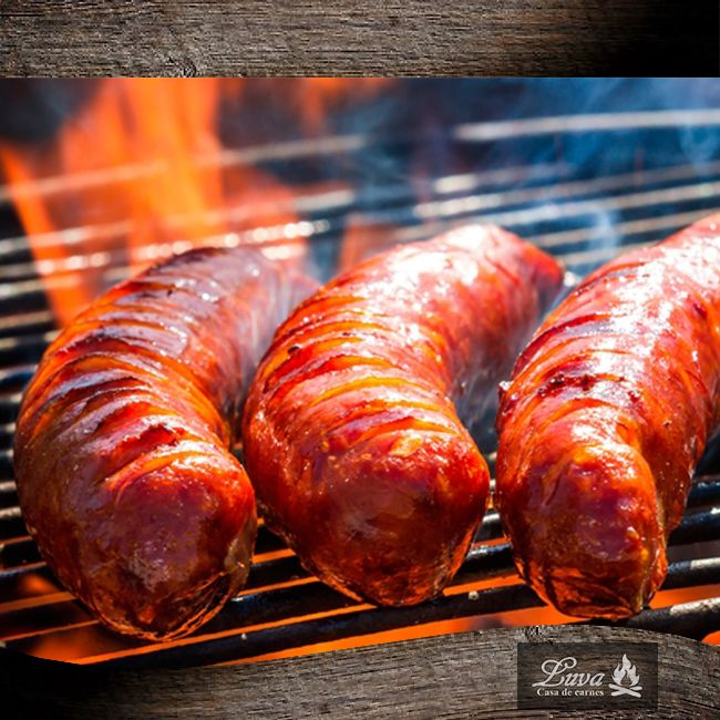 Deliciosos Chorizo a la parrilla, disfrútalo en #Luva #CasadeCarnes