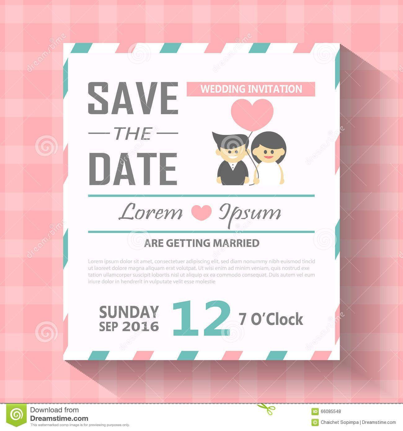 Wedding Invitation Editable Template Wedding invitation