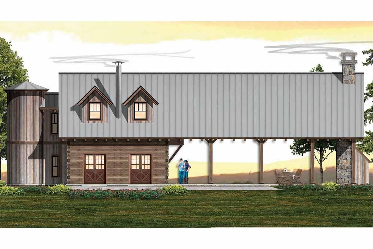House Plan 8504 00151 Mountain Rustic Plan 1 288 Square Feet 2 Bedrooms 2 Bathrooms In 2020 Rustic House Plans Barn House Plans Rustic House