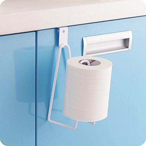 E Livingstyle Over The Cabinet Door Paper Towel Holder Wh Https