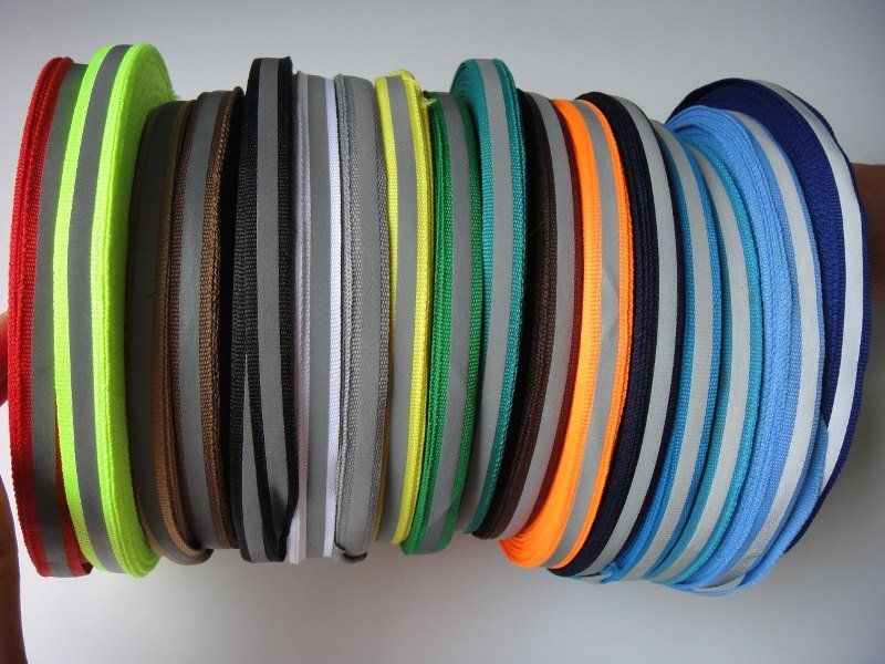 3 Meters Reflective Safety Tape Fabrics Sew For Sports Clothing DIY Sewing Craft