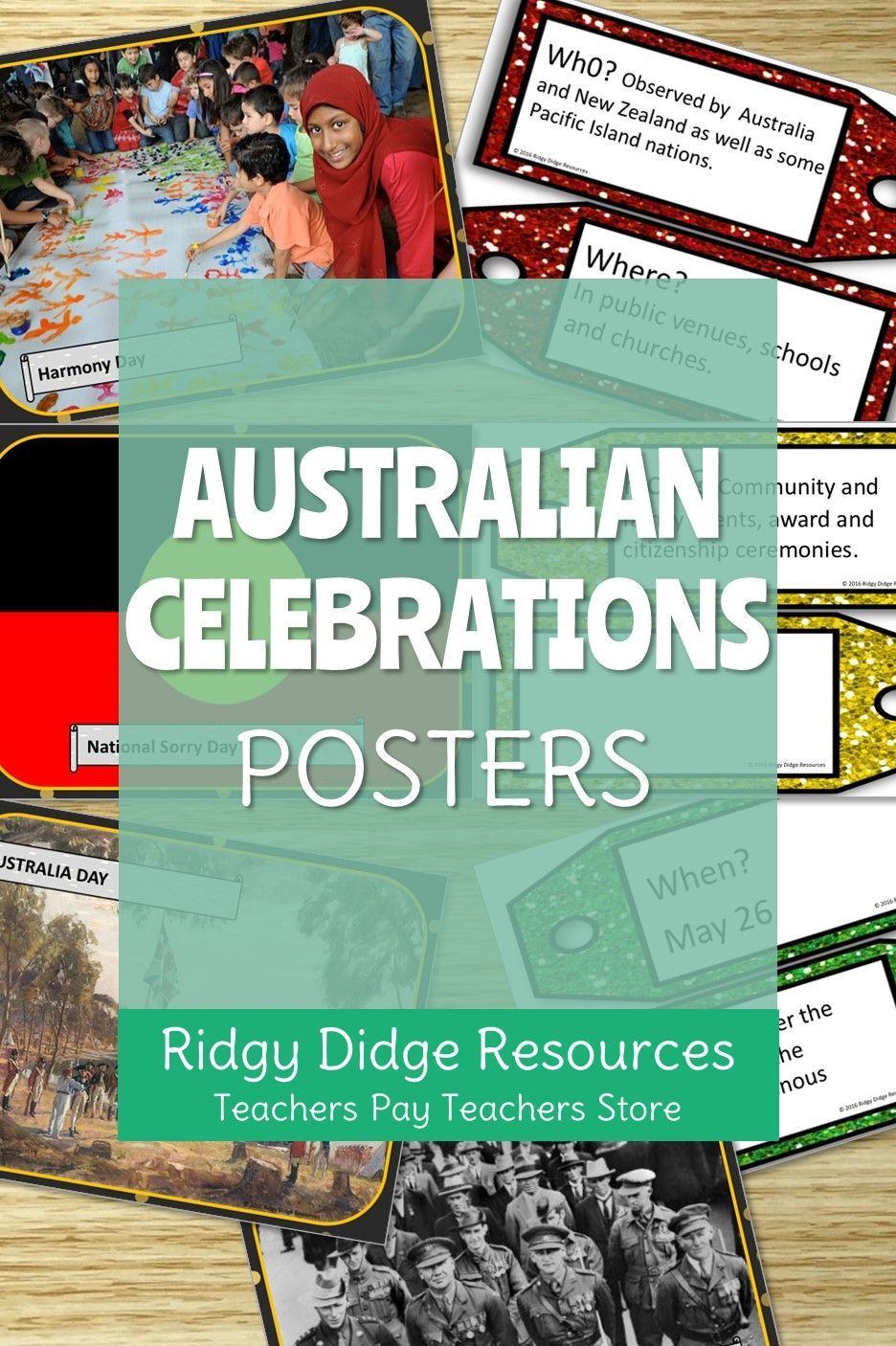 Teaching To The Australian Curriculum Does Not Need To Be Stressful With Our Brightly Coloured Posters Featuring 7 A Classroom Posters Writing Rubric Teaching