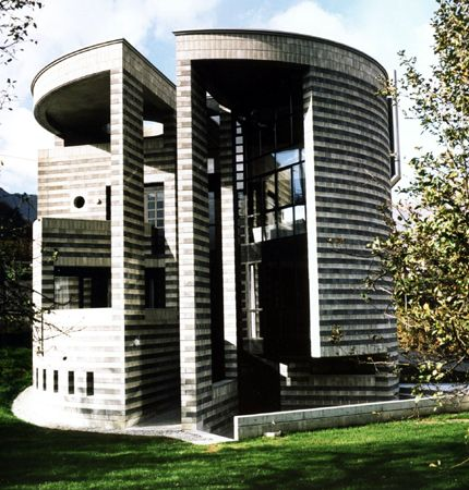 Round House. Losone, Switzerland. 1989. Mario Botta.