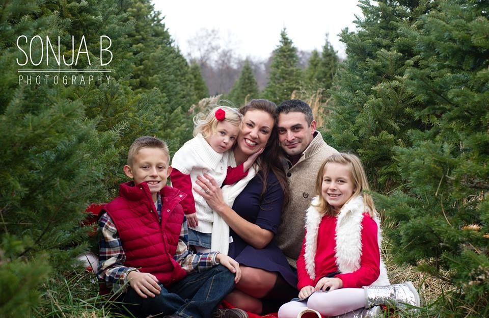 Charming Christmas Tree Farm Session In Cincinnati Ohio Captures By Sonja B  Photography