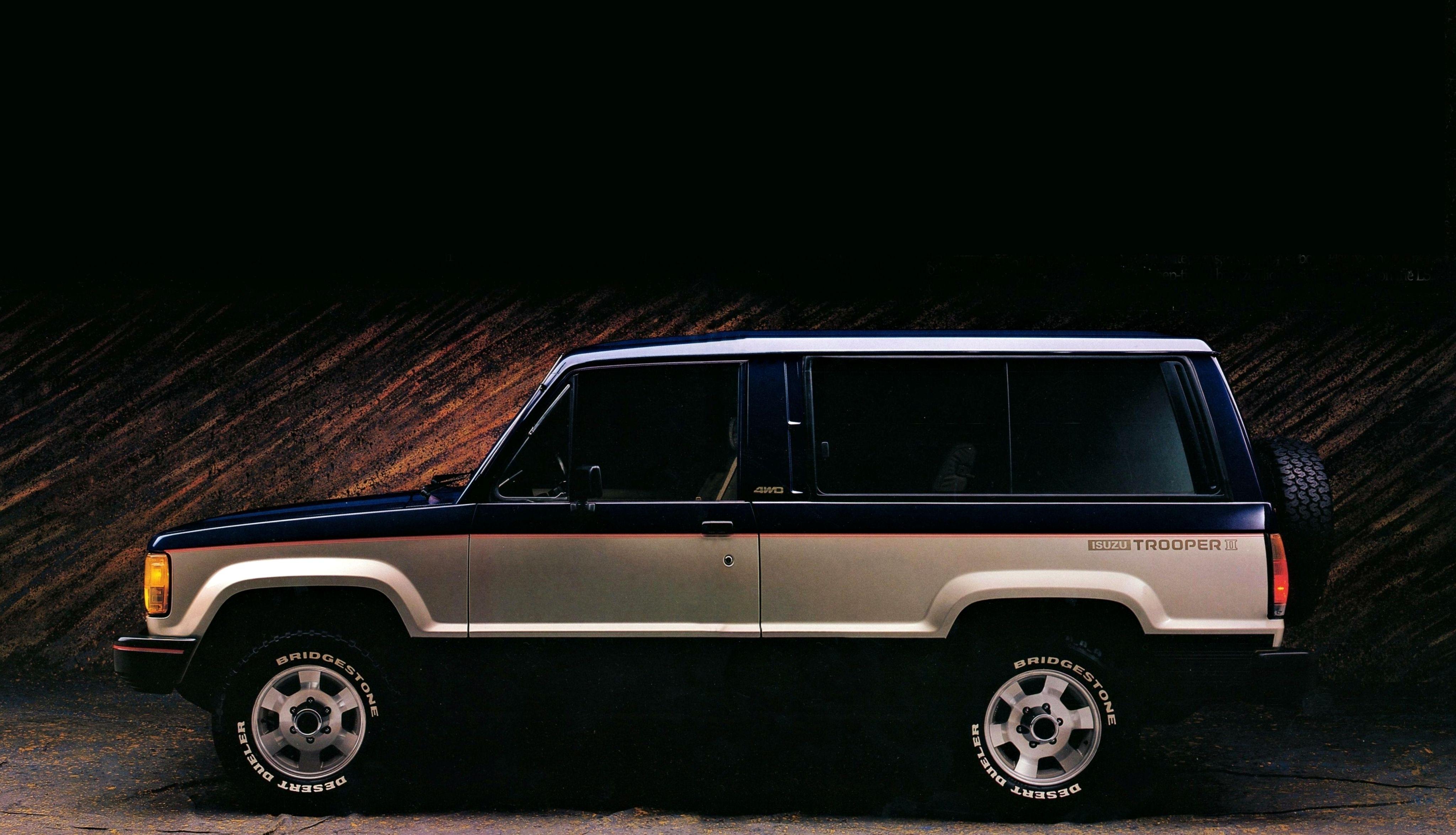 1983–86 Isuzu Trooper II 2-door | auta | Vehicles