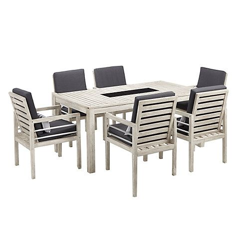 Buy John Lewis Atlantic 6 Seater Dining Chair Table Set FSC Certified