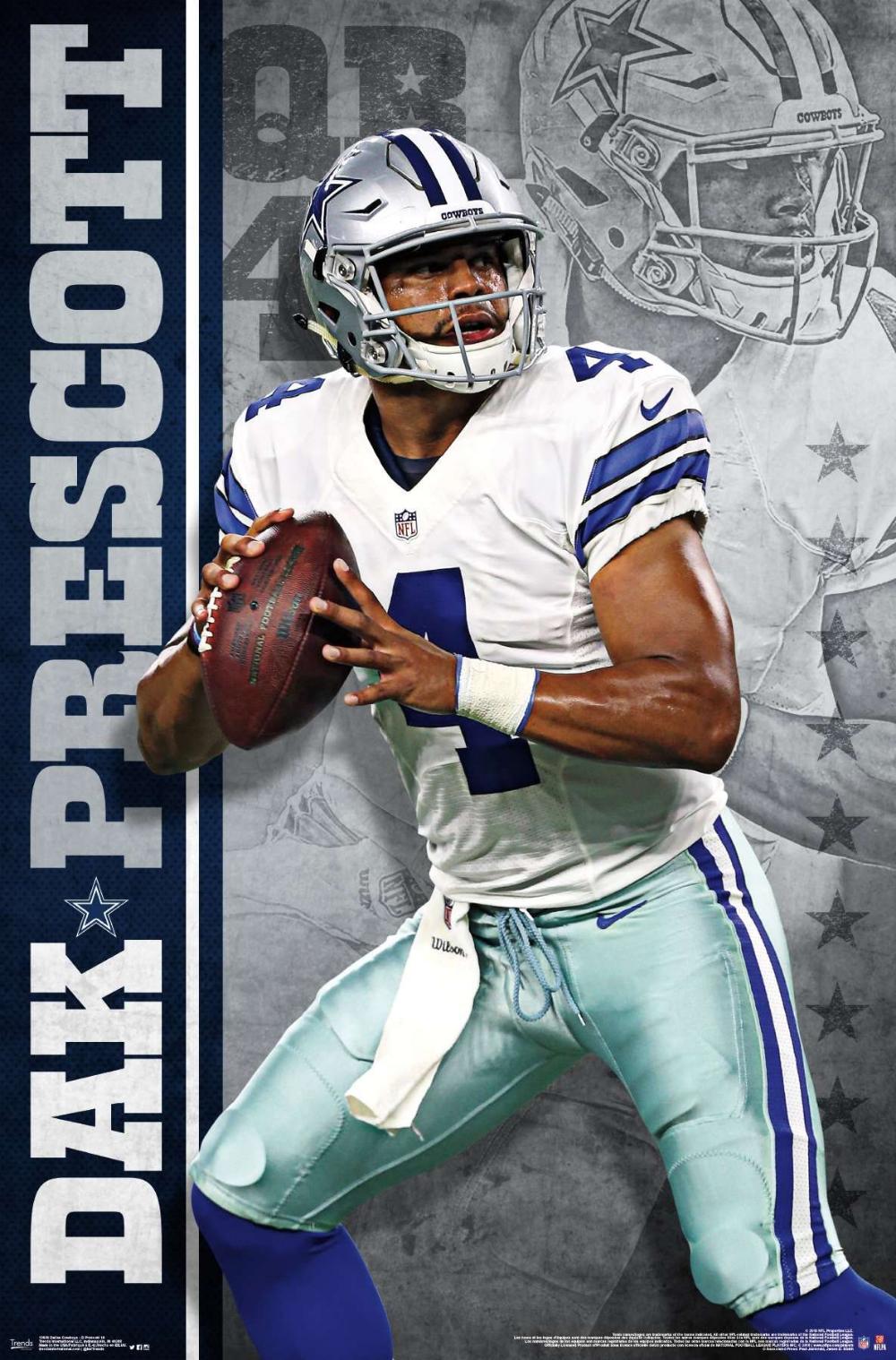 Nfl Dallas Cowboys Dak Prescott 16 Dak Prescott Dallas Cowboys Dallas Cowboys Cheerleaders Dallas Cowboys Wallpaper