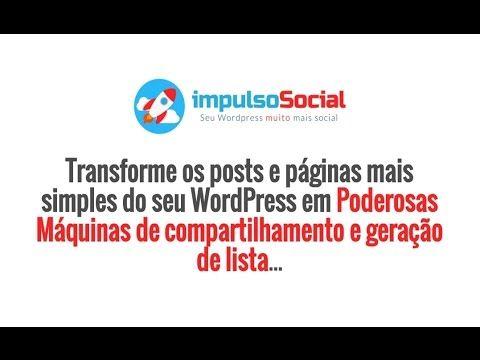 Plugin Impulso Social - Máquina Automática de Compartilhamento e Geração...