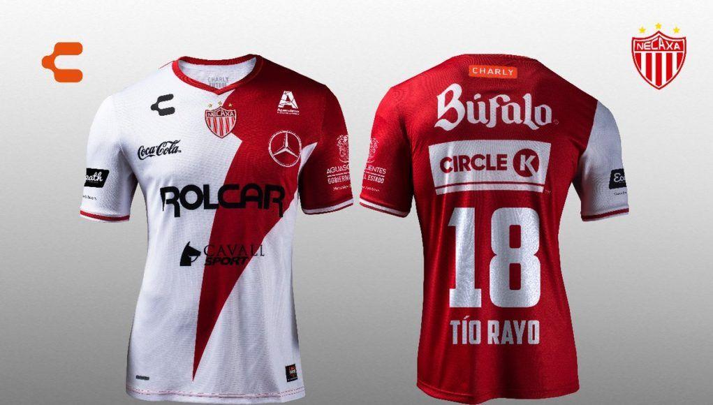 Camisa de gala do Necaxa 2018 Charly Remeras Deportivas 5c8c10765a640