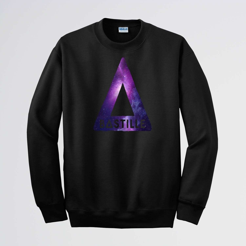 Bastille purple Sweater Sweatshirt Crewneck Men or Women Unisex  ...