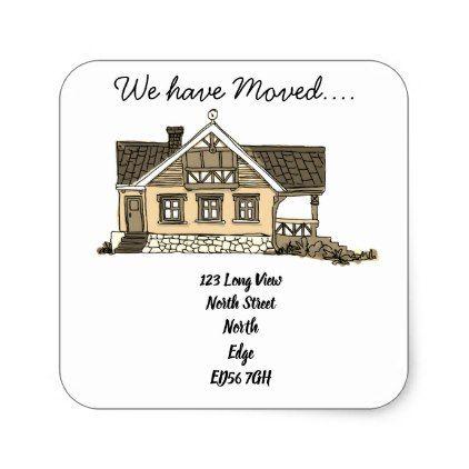 we\u0027ve moved change of address label - return address gifts label