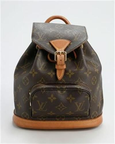 Louis Vuitton PreLoved Monogram Flanerie Backpack Made