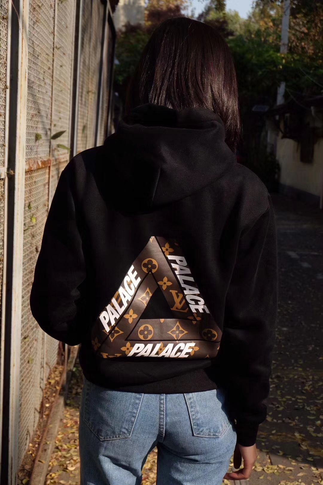 3e135a98c1f1 Incredible duo. Palace LV Pyramid Hoodie. Now in store!  palace  lv   streetwear  streetfashion  streetstyle  streetwearvilla