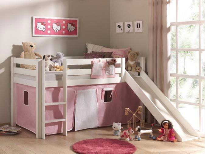 le lit toboggan de miss l avec emob4kids toboggan pour enfants et lits. Black Bedroom Furniture Sets. Home Design Ideas